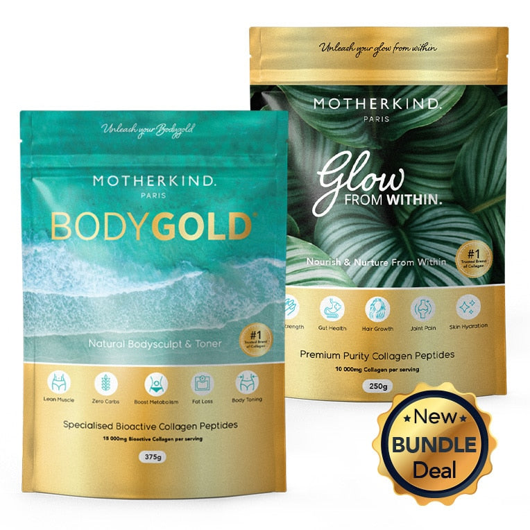 Motherkind | Famous Glow & Gold Starter Kit