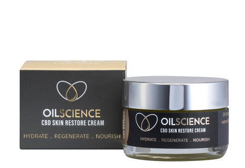 Oil Science | CBD Skin Restore Cream