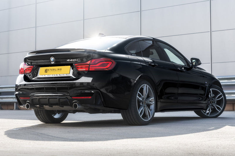 BMW 4 Series M Performance Style Rear Diffuser (F32/F33) - Single Tailpipe Twin Exit