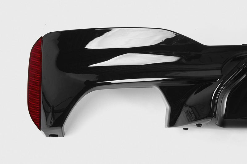 BMW 5 Series M5 M Performance Style Rear Diffuser (G30/G31) - Single Tailpipe Twin Exit
