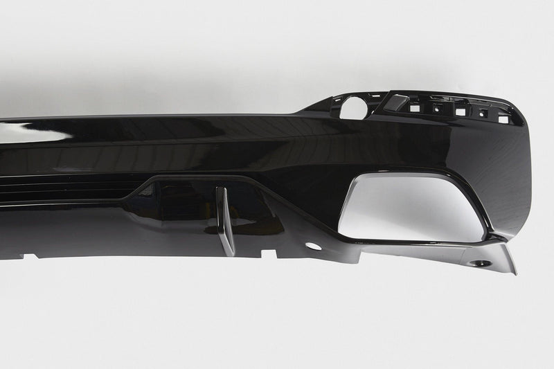 BMW 5 Series M Performance Style Rear Diffuser (G30/G31) - Single Tailpipe Twin Exit