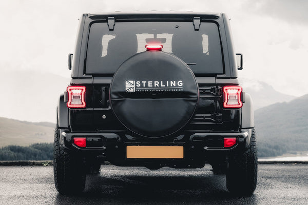 Sterling Jeep JL Logo Soft Wheel Cover