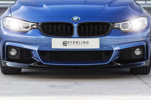 BMW 4 Series Gran Coupé M Performance Style Front Splitter (F32/F33)