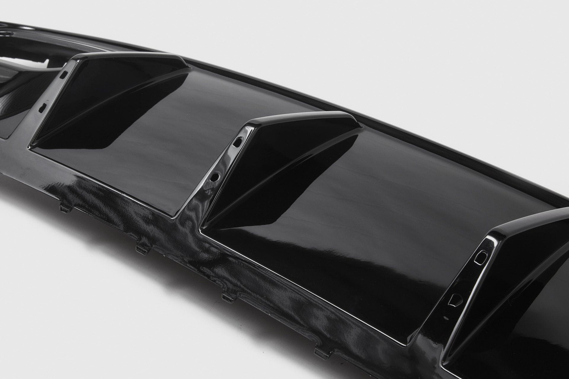 Mercedes-Benz A-Class A45 AMG Style Rear Diffuser (W176) Black Tailpipes
