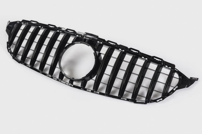 Mercedes-Benz C-Class Panamericana GTR Style Grille  (W205 14/18 with camera)