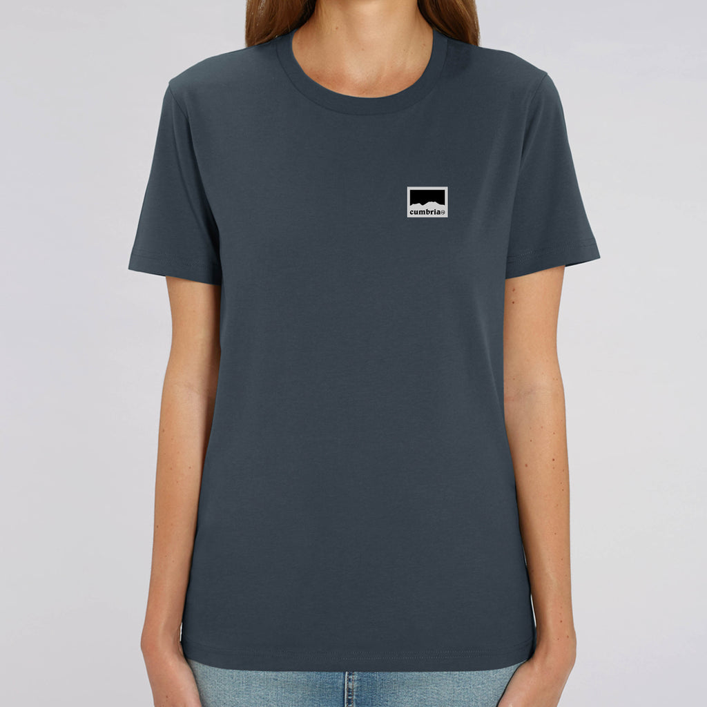 Dove Crag Womens T shirt - Indian Ink