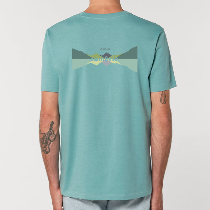 Great Gable - T-shirt - Teal Monstera