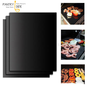 Reusable Non-Stick BBQ Grill Mat Pad (1pc)