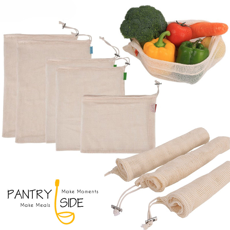 Eco-friendly Reusable Produce Bags