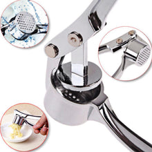 Load image into Gallery viewer, Stainless Steel Garlic Press Crusher