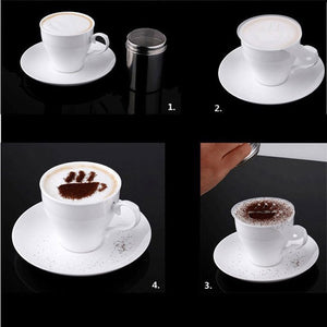 Coffee Stencil Filter Coffee Maker