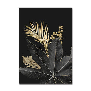 Leaf Plant Canvas