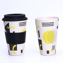 Load image into Gallery viewer, Portable Reusable Bamboo Coffee Cups