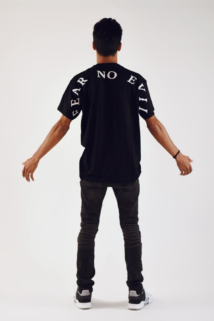Fear No Evil Pocket Tee - TŌPIA