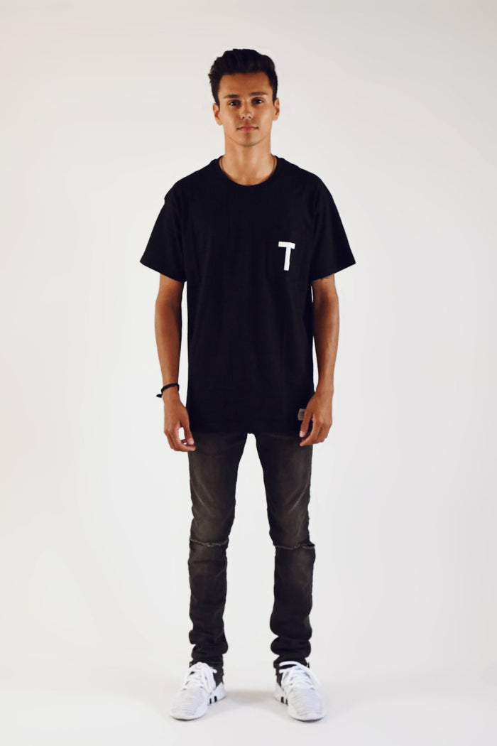 Fear No Evil Pocket Tee