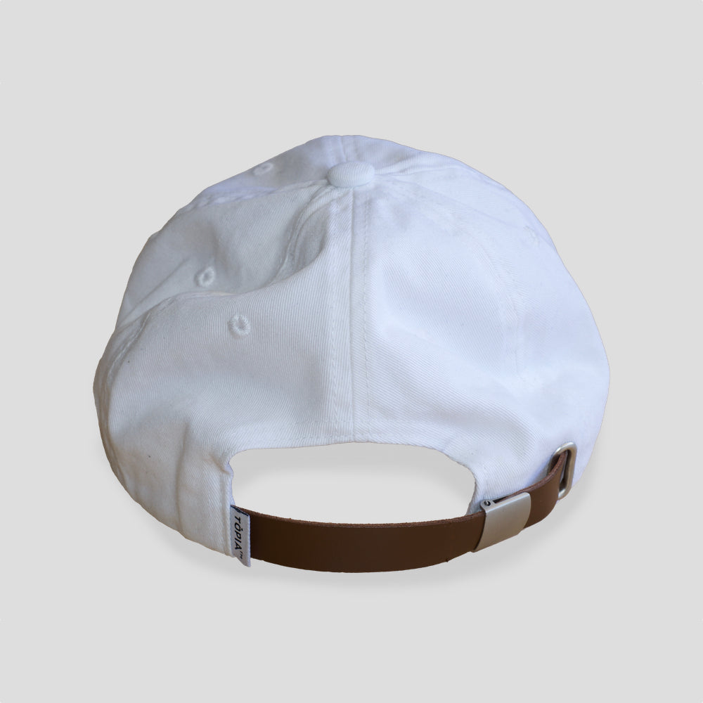 Honolulu Cap in White