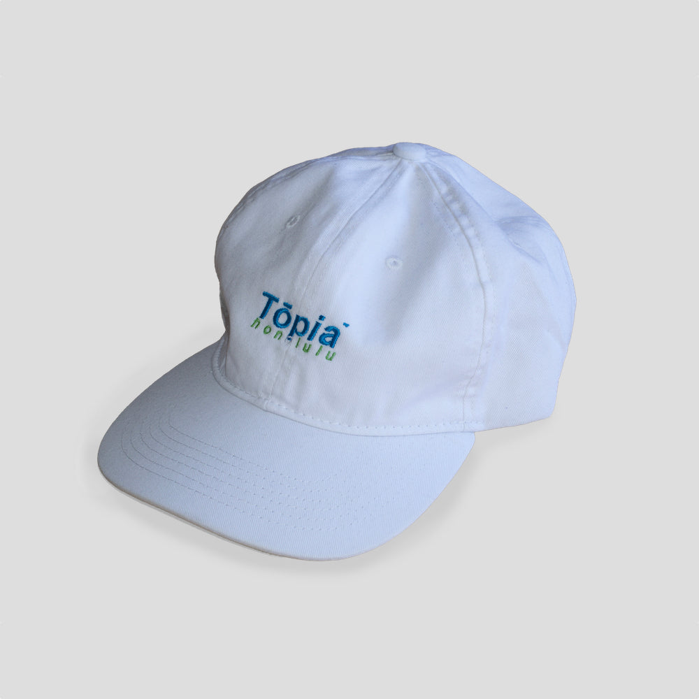 Honolulu Cap in White - TŌPIA