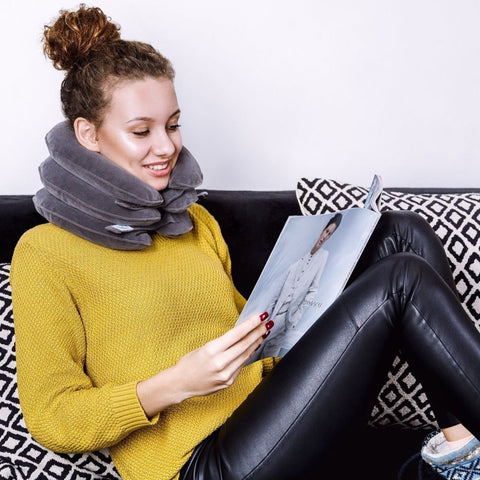 Give yourself a neck traction in the comfort of home
