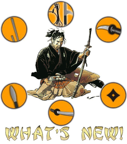 New Ninja Gear at Bujinkan Gear