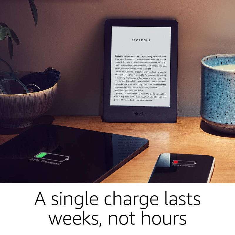 Kindle - Now with a Built-in Front Light - Black