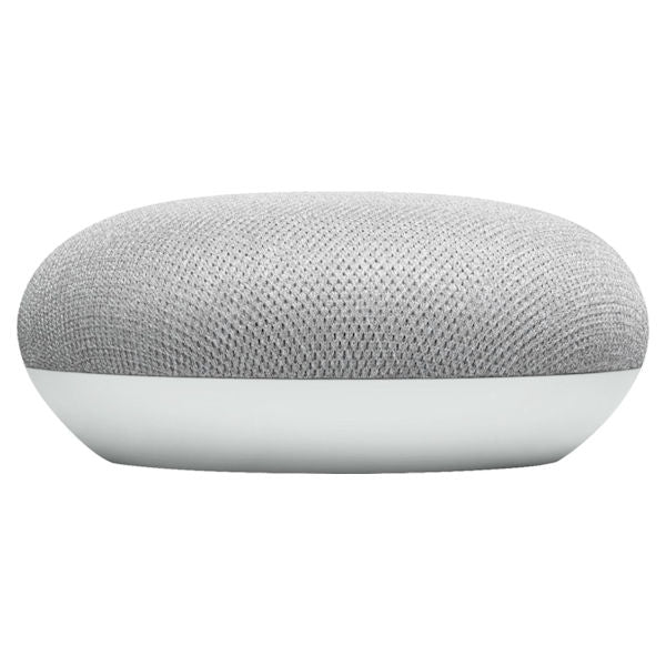 Google - Home Mini (1st Generation) - Smart Speaker with Google Assistant - Chalk