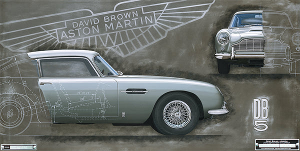 Introducing Geoff Bolam: The Resourceful Classic Car Artist