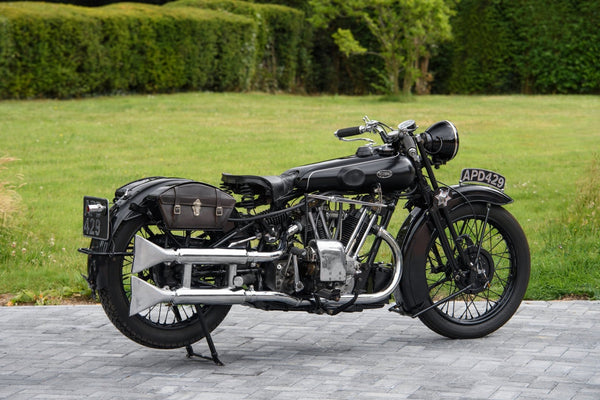 1933 Brough Superior 680 OHV 'Black Alpine'