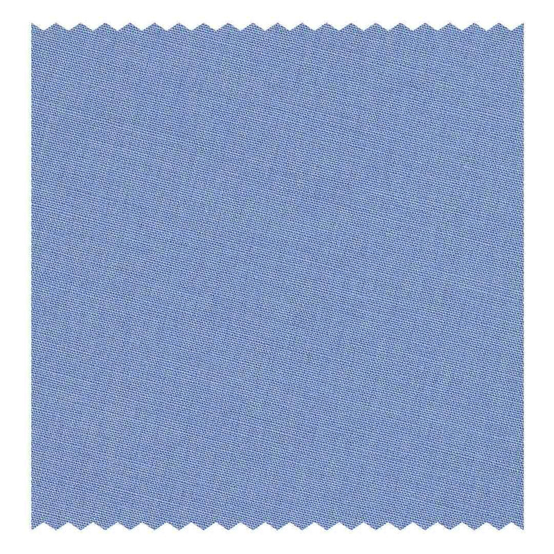 Sky-Blue Poplin (2 Fold 100's) (98% twisted Cotton/2% Elastane)