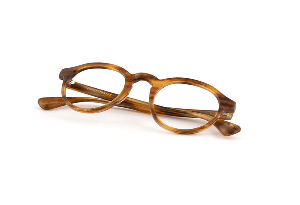 Honey Stripe Alex Optical Frames