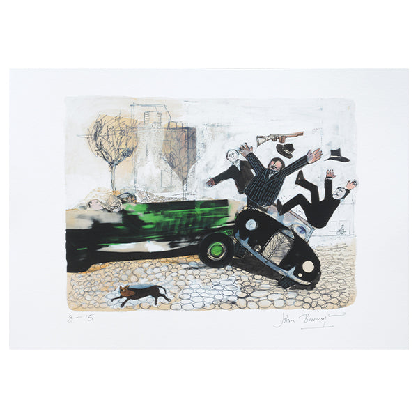 Three Chitty Chitty Bang Bang lithographs