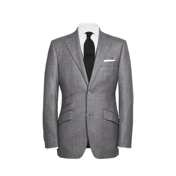 Mid Grey Sharkskin Conduit Cut 2 Piece Suit