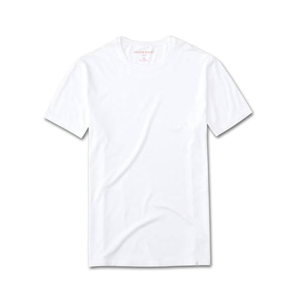 Basel White Short Sleeve T-Shirt