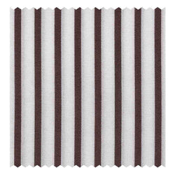 Brown Classic Stripe Pinpoint (2 Fold 80's)