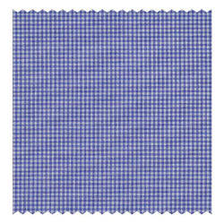 Light-Navy Micro-Windowpane Poplin (2 Fold 120's)