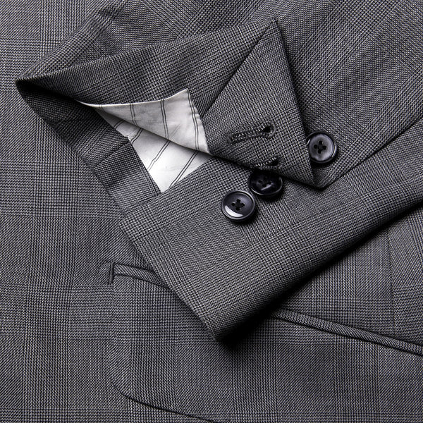 Prince of Wales Check Conduit Cut 2 Piece Suit