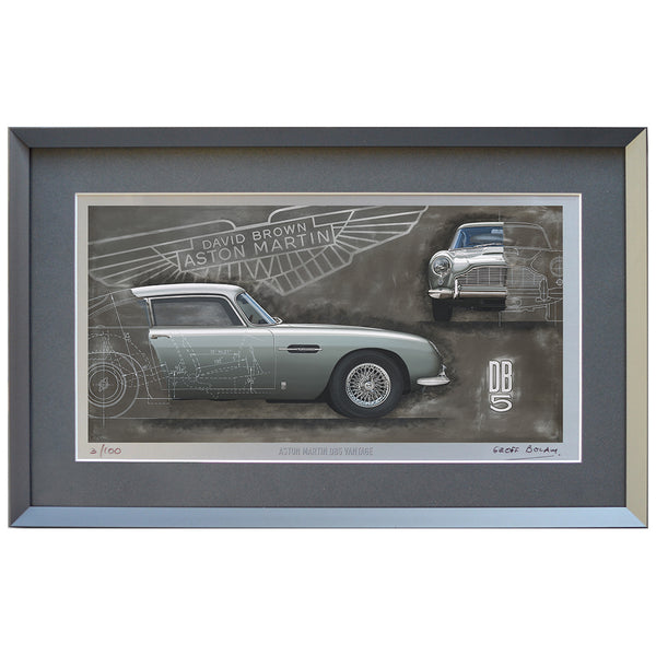 Aston Martin DB5 Limited Edition Print