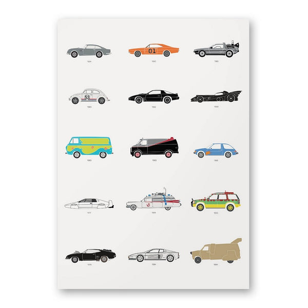 Film Classics – Movie Car Poster