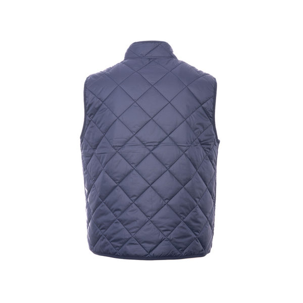 Navy Quilted Gilet Jacket
