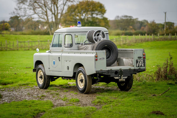 "1962 Land Rover Series IIa 109"" Ex West Sussex Fire Brigade"