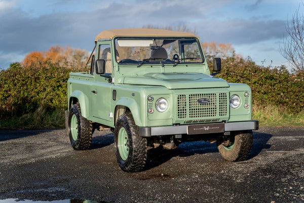 2008 Land Rover Defender 90 Heritage Edition Soft Top