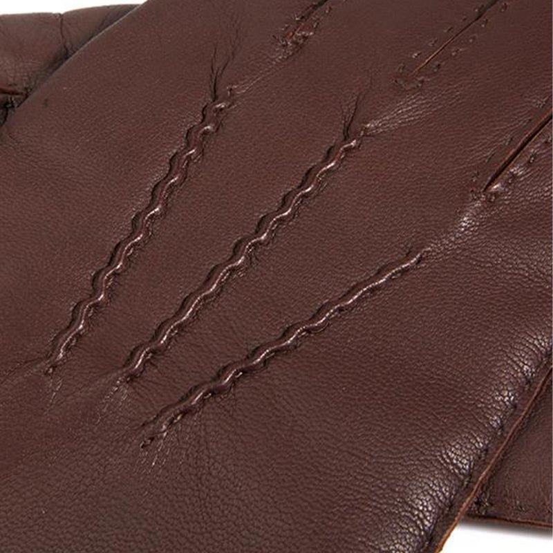 English Tan Chelsea Cashmere Lined Leather Gloves