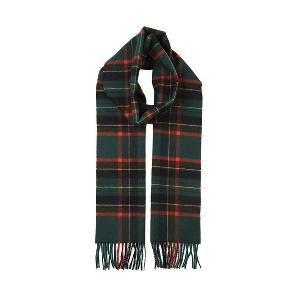 Hunter Cashmere Check Scarf with Gift Box