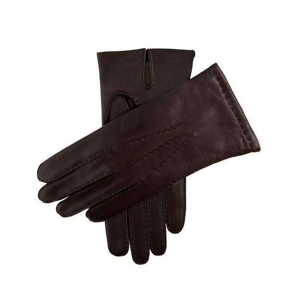 Brown Chelsea Cashmere Lined Leather Gloves