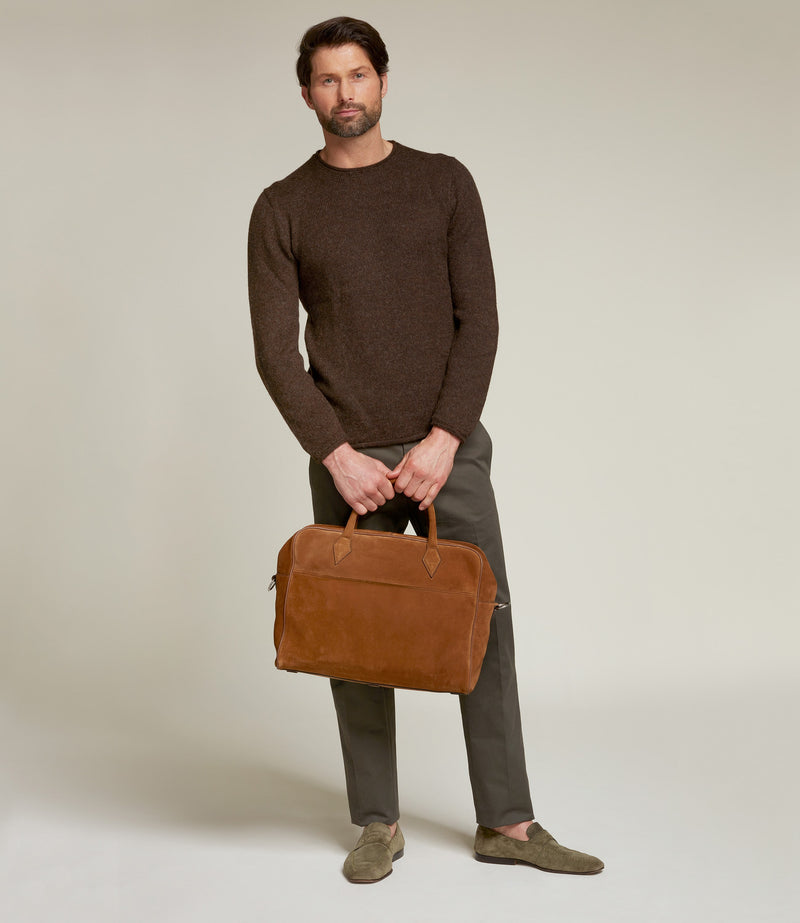 Suede Marrakech Closer All Day Briefcase