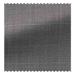 Mid Grey Glen Plaid with Blue Overcheck Four Seasons (130'S)
