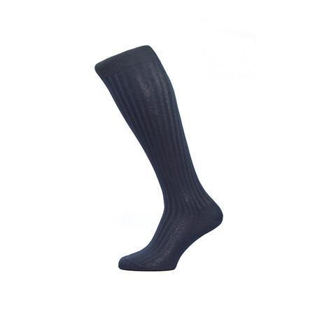 Navy Danvers Long socks