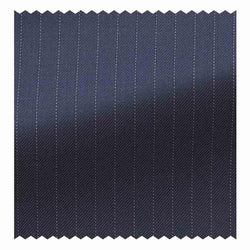 Navy Blue Pindot Stripe Four Seasons