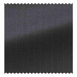 Dark Grey Pindot Stripe Four Seasons