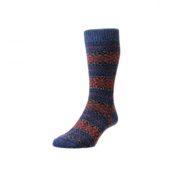 Denim Marl Farne Socks