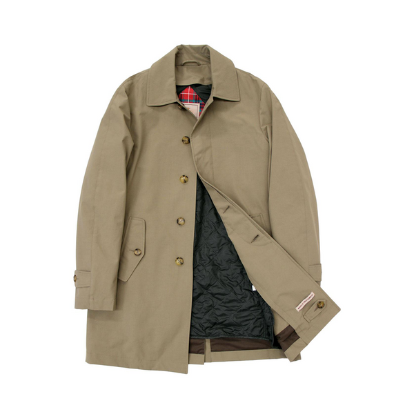 Taupe G10 Detachable Liner Raincoat